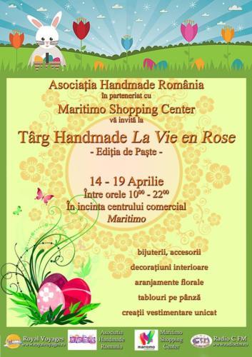 Targ handmade - 14 - 19 aprilie 2014