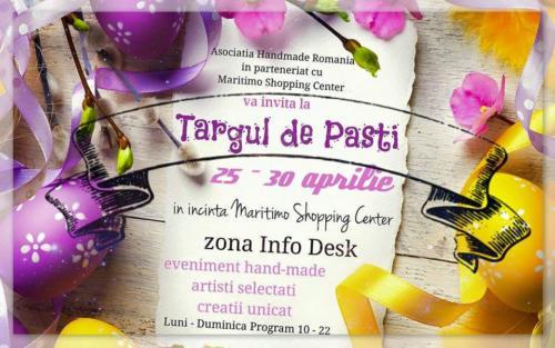 Targul de Pasti 25 - 30 aprilie 2016