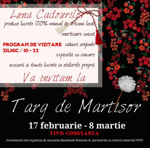Targul de martisor 17 feb - 8 martie